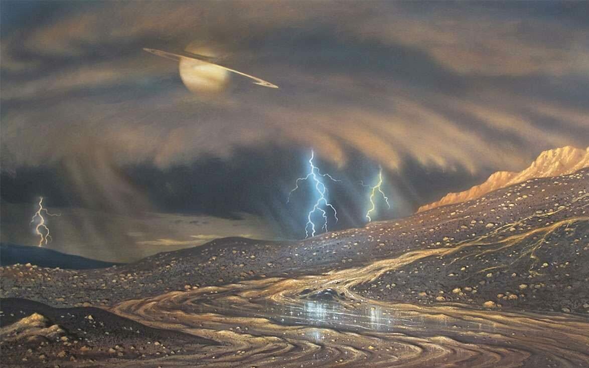 Новая вертолетная миссия NASA по исследованию Титана