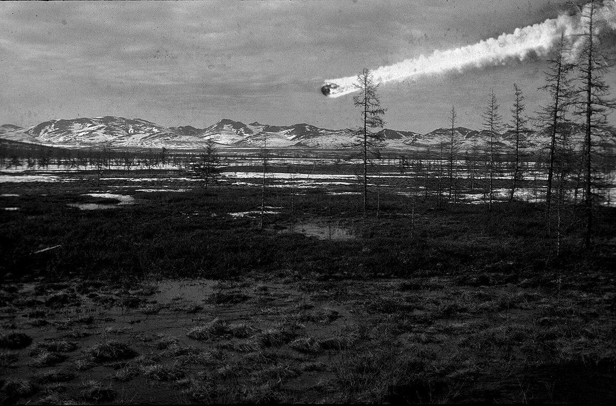 Число жертв и размеры Тунгусского метеорита по версии NASA